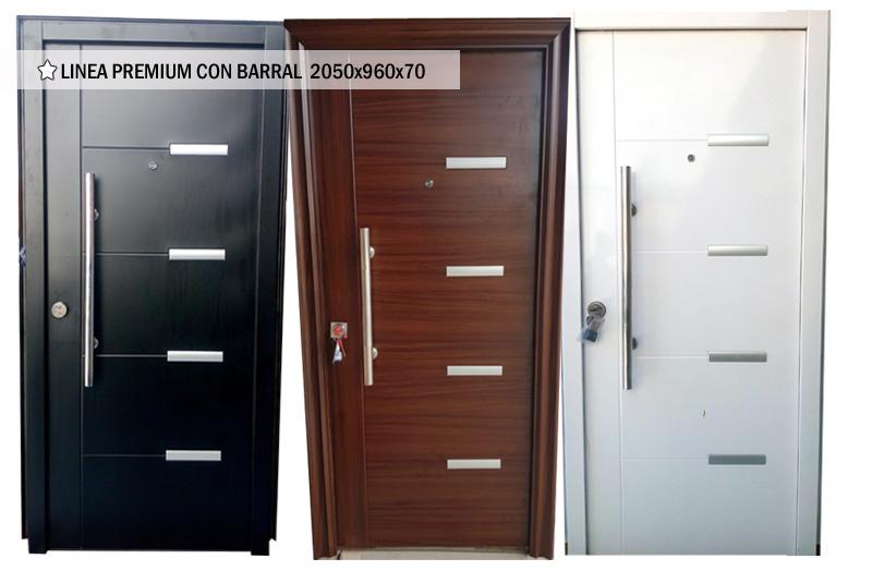Puertas de Seguridad - modelos Premium con barral
